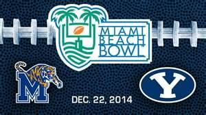 Miami Beach Bowl Prediction